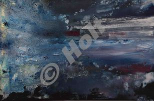 Image 12 - 500 x 600 mm oil,resin ,carborundum on canvas